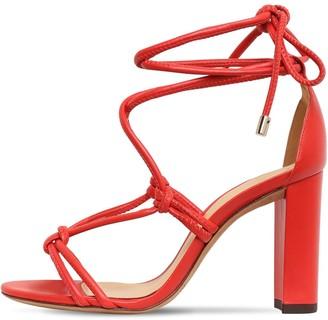 Alexandre Birman 90mm Rebecca Leather Sandals