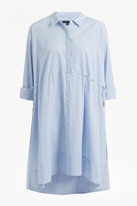 French Connection Smithson Striped Cotton Shirt Dress