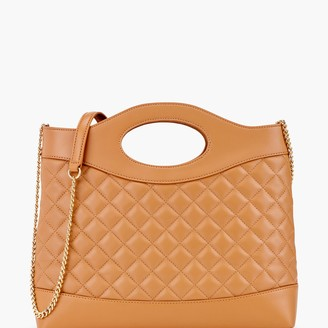 Talbots Quilted Leather Handbag
