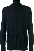 Maison Flaneur - layered turtleneck buttoned jumper - men - Wool - 46