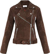 Gestuz Daya Brown Suede Biker Jacket