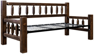 Montana Woodworks® Homestead Collection Day Bed, Stain and Clear Lacquer Finish