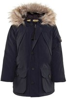 Penfield Navy Hoosac Hooded Parka Coat