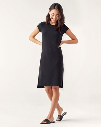 Splendid Rib Shortsleeve Dress