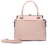 Blush Patent Satchel