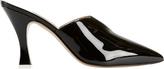 Attico Monica Patent Leather Slides