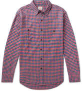 Faherty Seasons Checked Cotton-Flannel Shirt
