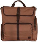 Diaper Dude Stroller Convertible Backpack Plus Diaper Bag in Brown