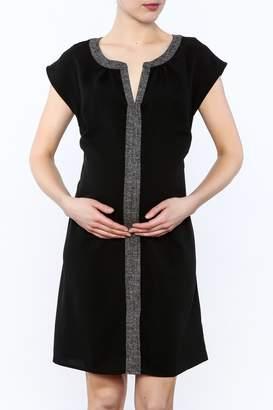 Ripe Maternity Black Lara Dress