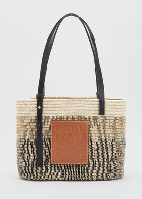 Loewe Square Basket Small Tricolor Tote Bag