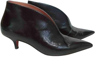Celine Black Patent leather Ankle boots