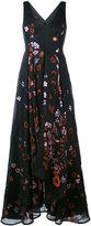 Talbot Runhof Momentum dress - women - Silk/Polyamide/Acetate/Metallized Polyester - 36