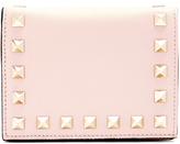 Valentino Rockstud French-flap leather wallet