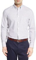 Nordstrom Classic Fit Smartcare TM Windowpane Sport Shirt