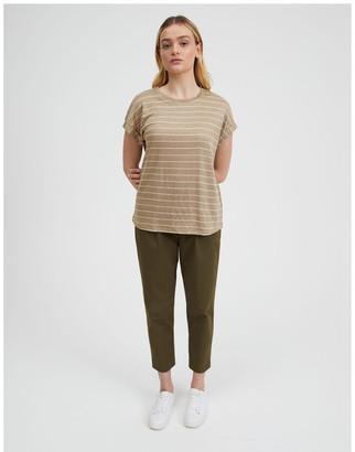 Piper Linen Short Sleeve Tee