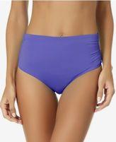 Anne Cole Convertible Shirred Bikini Bottoms