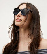 LOFT Squared Cateye Sunglasses