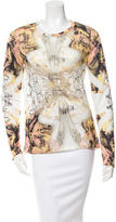 Prabal Gurung Printed Sheer Top w/ Tags