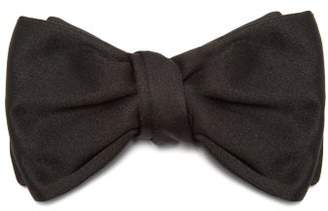 Givenchy Silk Faille Bow Tie - Mens - Black