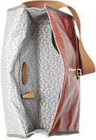 Fossil Handbag, Key-Per Printed Flap Messenger Bag