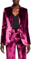 Sies Marjan Velvet Blazer Jacket