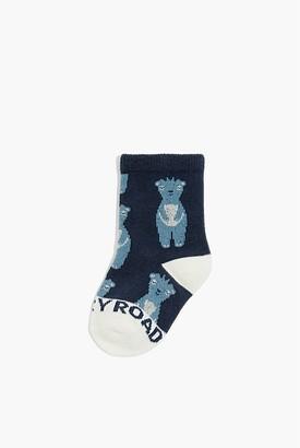 Country Road Meerkat Sock