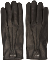 Prada Black Lambskin Gloves