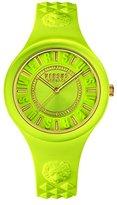 Versus By Versace Women's SOQ060015 Fire Island Analog Display Quartz Yellow Watch