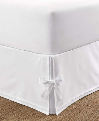 Laura Ashley Tailored King Bedskirt with Corner Ties Bedding