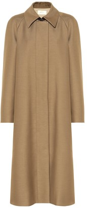 The Row Duru cotton and wool-blend coat