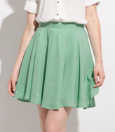 Fred Flare Floating Heart Mint Skirt