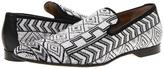 Donald J Pliner Pontsp (White/Black) - Footwear