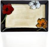 Pfaltzgraff Painted Poppies Rectangular Serving Platter