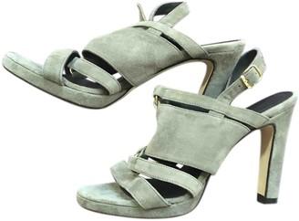 Tila March Beige Suede Sandals