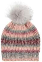 Accessorize Pretty Spacedye Pom Beanie Hat