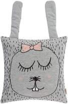 ferm LIVING Little Ms. Rabbit Cushion - Grey