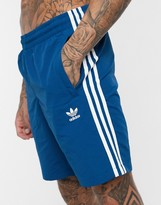 adidas 3 stripe swim shorts
