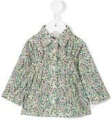 Cashmirino Floral flared shirt