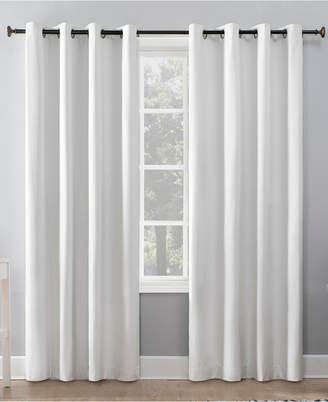 "Sun Zero Duran 50"" x 95"" Thermal Insulated 100% Blackout Grommet Curtain Panel"