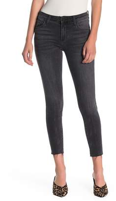 KUT from the Kloth Connie Ankle Skinny Raw Hem Jeans (Regular & Plus Size)