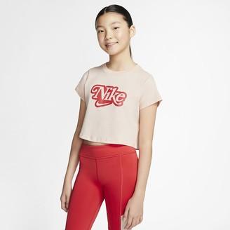 Nike Big Kids' (Girls') T-Shirt Sportswear