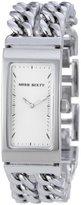 Miss Sixty Unchain Stainless Steel Bracelet White Dial - WM2J4002