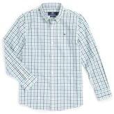 Vineyard Vines Boy's Wolfish Check Woven Shirt