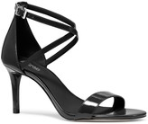 MICHAEL Michael Kors Ava Patent Leather Strappy Sandals