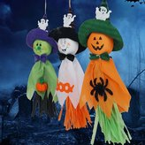 Halloween Decorative Ghosts Doll Pendants / Horror Ghost for Halloween Party Garden School Supermarket Decor Pack of 3 by Kaimao