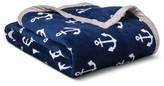 Circo Anchors Plush Blanket - Pillowfort