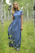 Shabby Apple Gemma Maxi Dress Blue