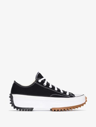 Converse Black Run Star Hike Low Top Sneakers