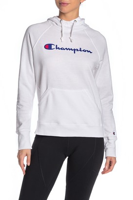 Champion Powerblend Graphic Print Hoodie