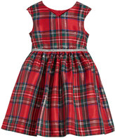 Marmellata V-Neck Plaid Dress, Toddler Girls (2T-5T)
